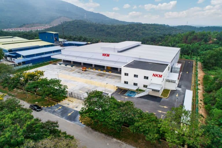 Nippon konpo malaysia new bonded warehouse project compr